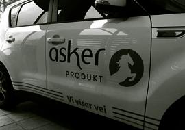 Utkjøring i Asker og Bærum