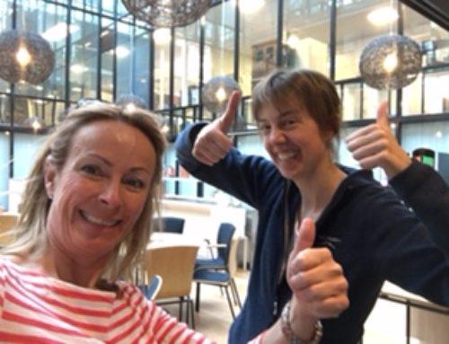Den Glade Kafe – på Hvalstad